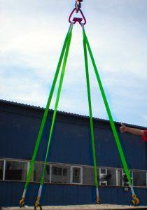 4 ветви, строп текстильный паук 4СТ
