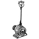Прямая строповка одноветвевым стропом 1 СЦ