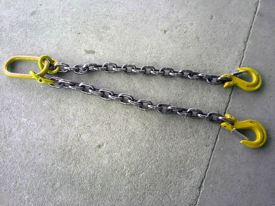 Цепной строп с двумя ветвями 2СЦ