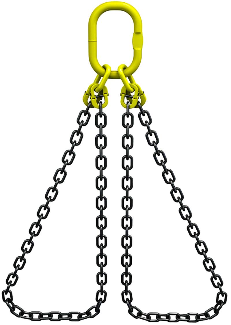 Строп цепной СЦ2ВЗ, с двумя замкнутыми ветвями
